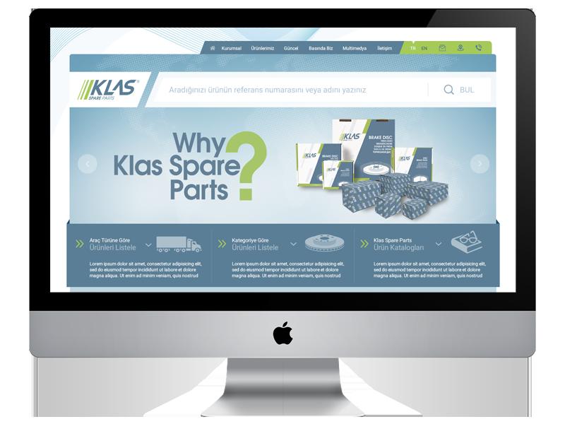 Klas Spare Parts Web Sitesi Yayında!